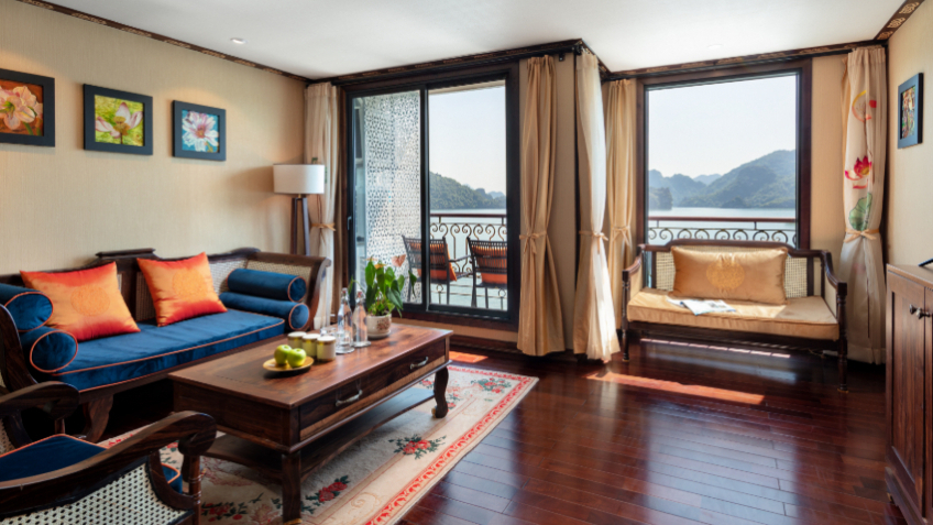 Indochine Cruise President Suite