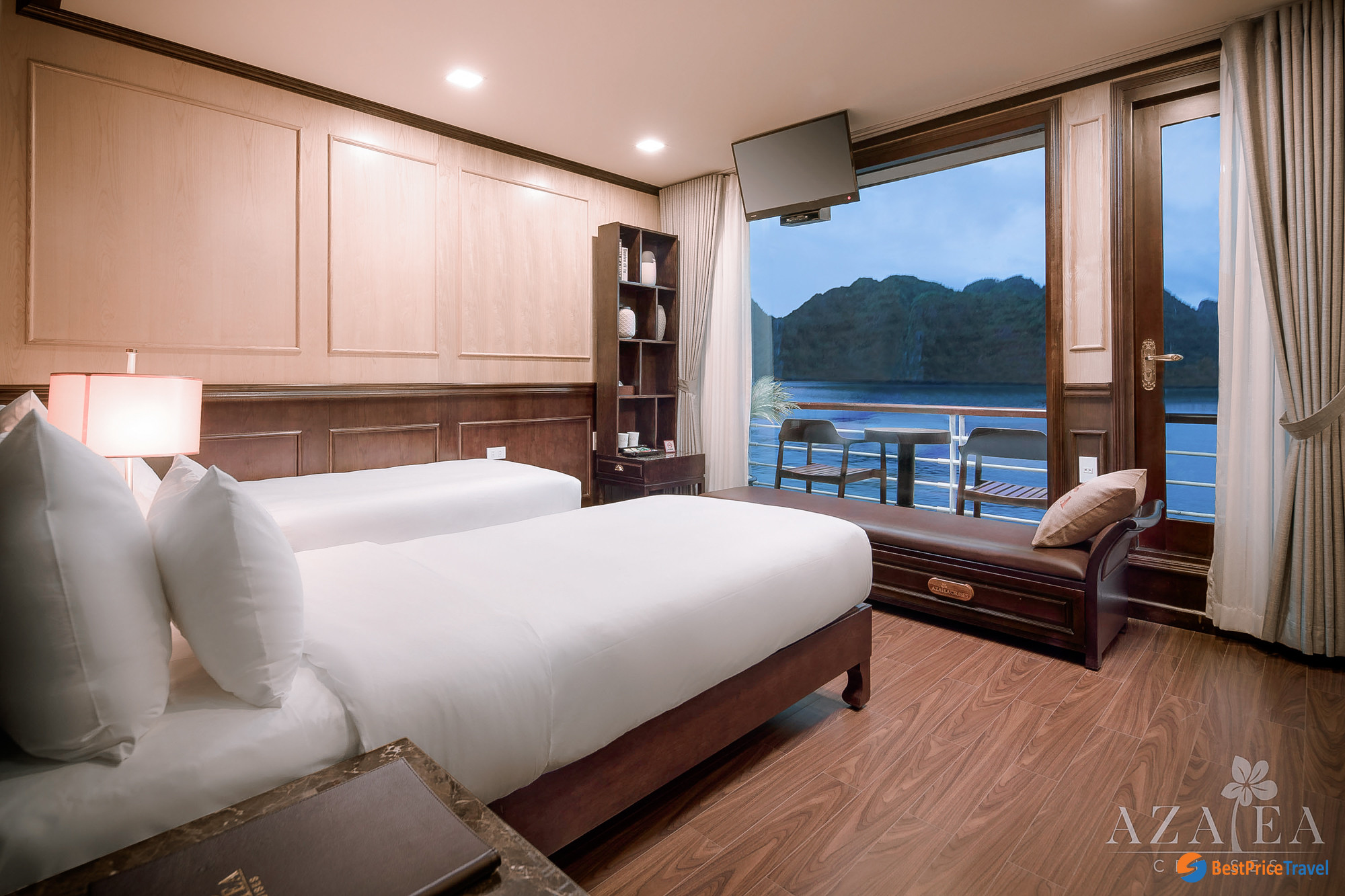 Deluxe Balcony Cabin on Azalea Cruise