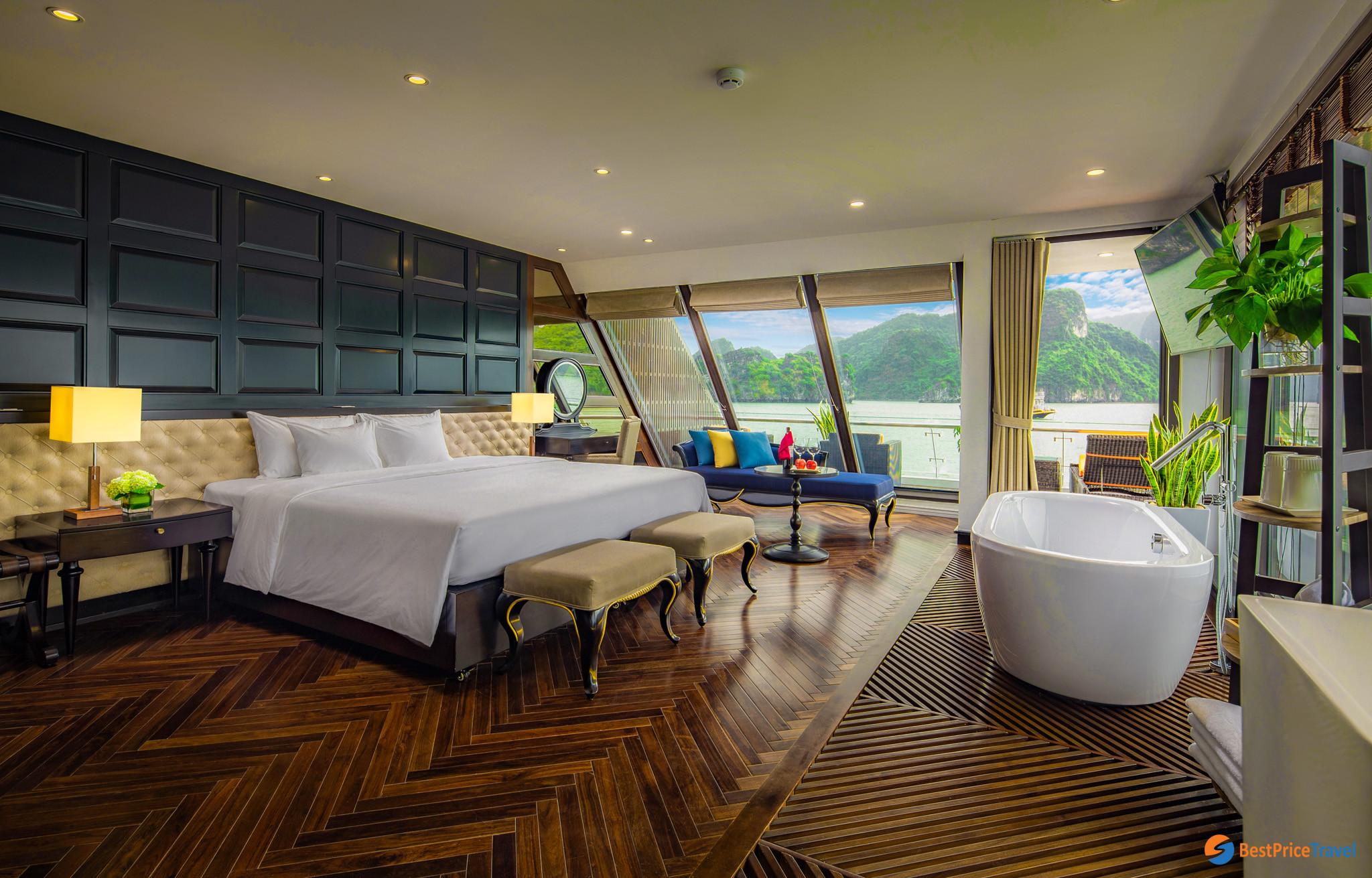 Executive Suite -  Stellar of the sea cruise