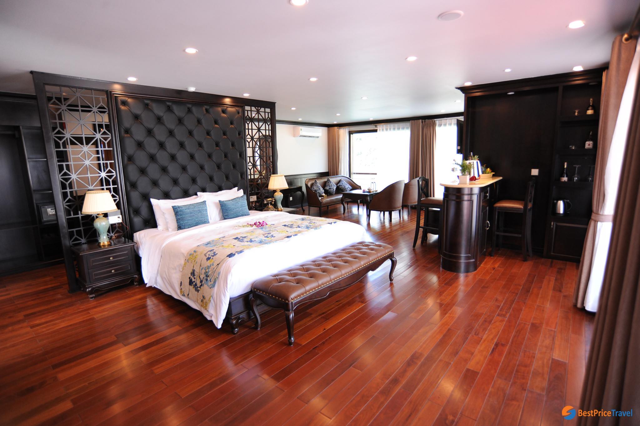 President Suite on Sealife Legend Cruise