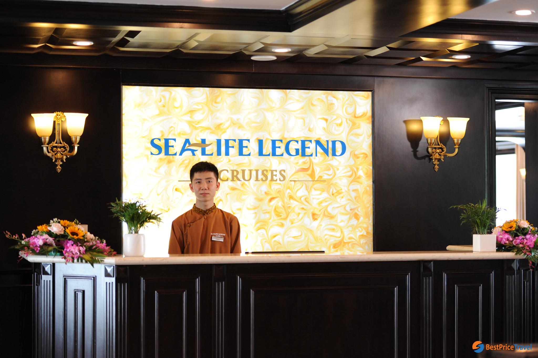 Reception of sealife legend cruise