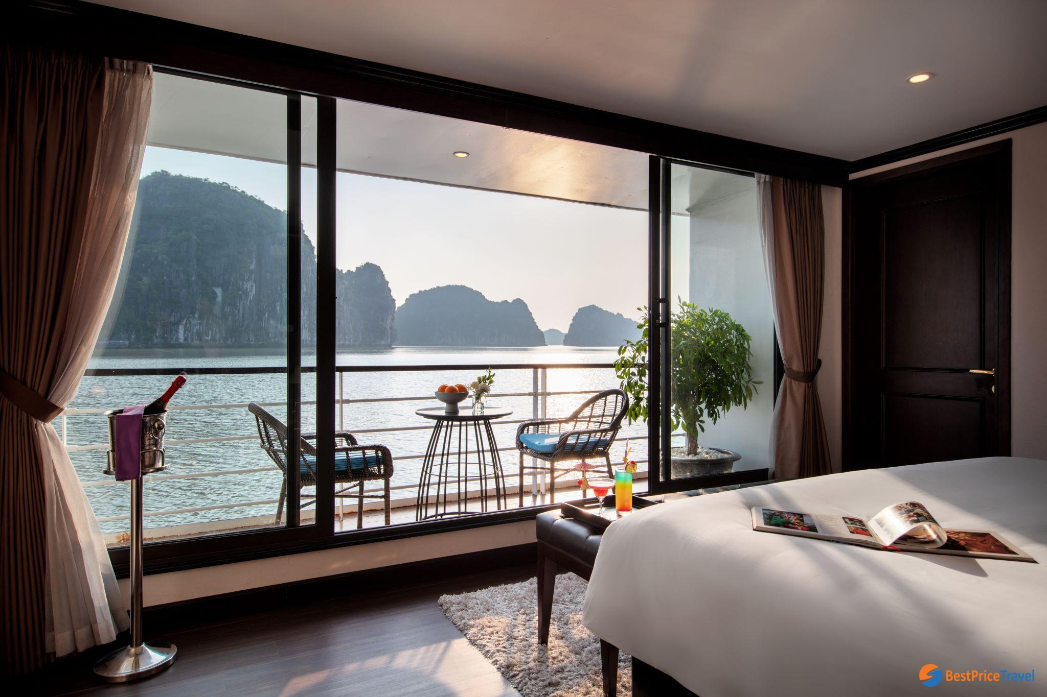 Mon Cheri Ocean Suite Balcony