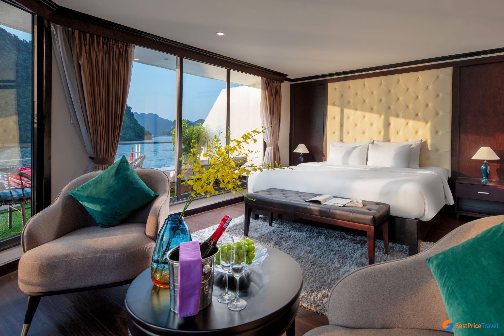 Mon Cheri Terrace Suite