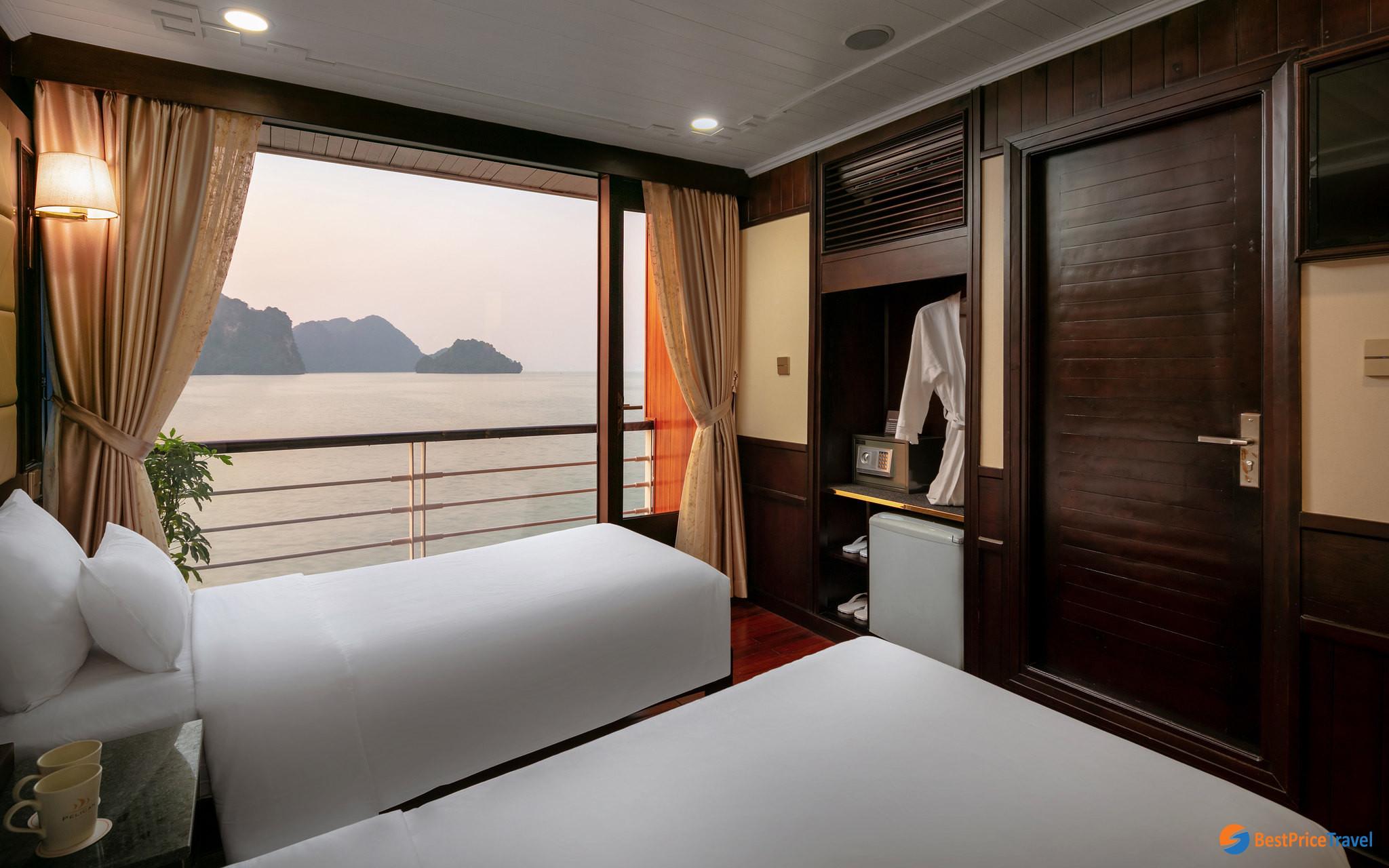 Suite ocean view on Pelican Cruise