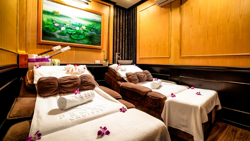 Peony Cruise Spa Services
