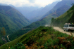 Steep Road Ascends the Pass