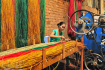 Weaving mat in Ngoc Hoi village