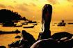 Chen beach in sunset