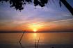 Sunset on Hau river