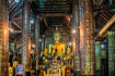 Interior Of Wat Visoun