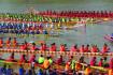 Luang Prabang Boat Racing Festival on Nam Khan River