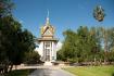 Monument At Choeung Ek