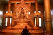 Botataung Pagoda Buddha Monk Praying