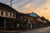 Sunset Time In The Old Heritage Town