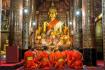 Wat Xieng Thong Praying Monks