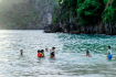 Swimming in Titop