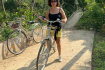 Tan Phong Island - Biking