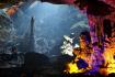 Stalactite Inside The Cave Looks Like A God