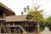 Traditional Stilt House In Pom Coong Village