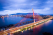 Tran Thi Ly Bridge With Colorful Lighting System