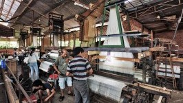 Silk Weaving Factory