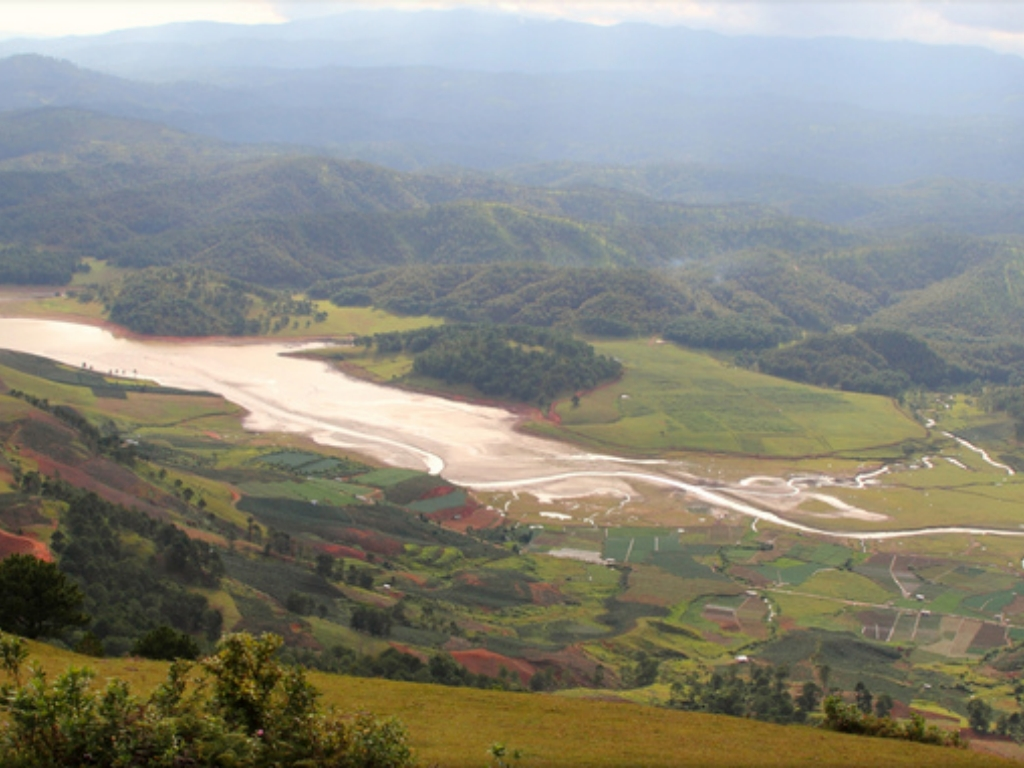 View from Lang Biang Mountain