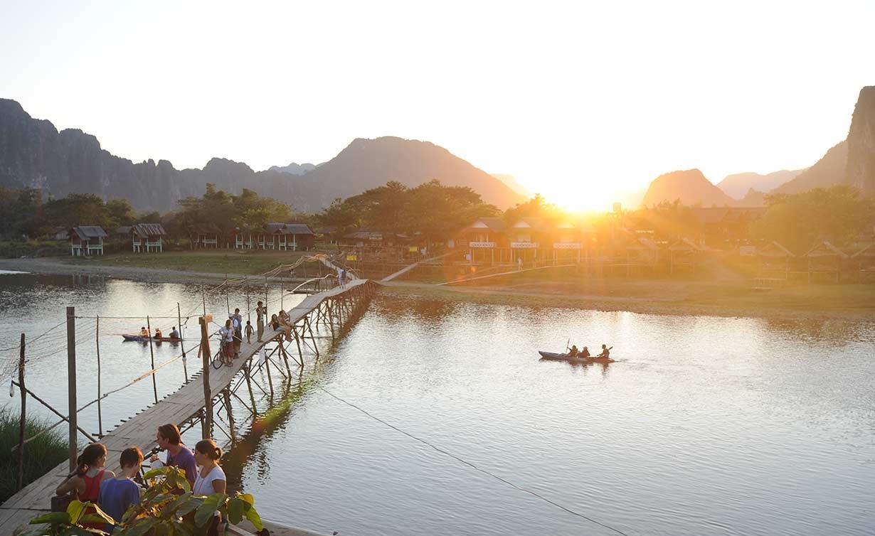 River view in Huay Xai