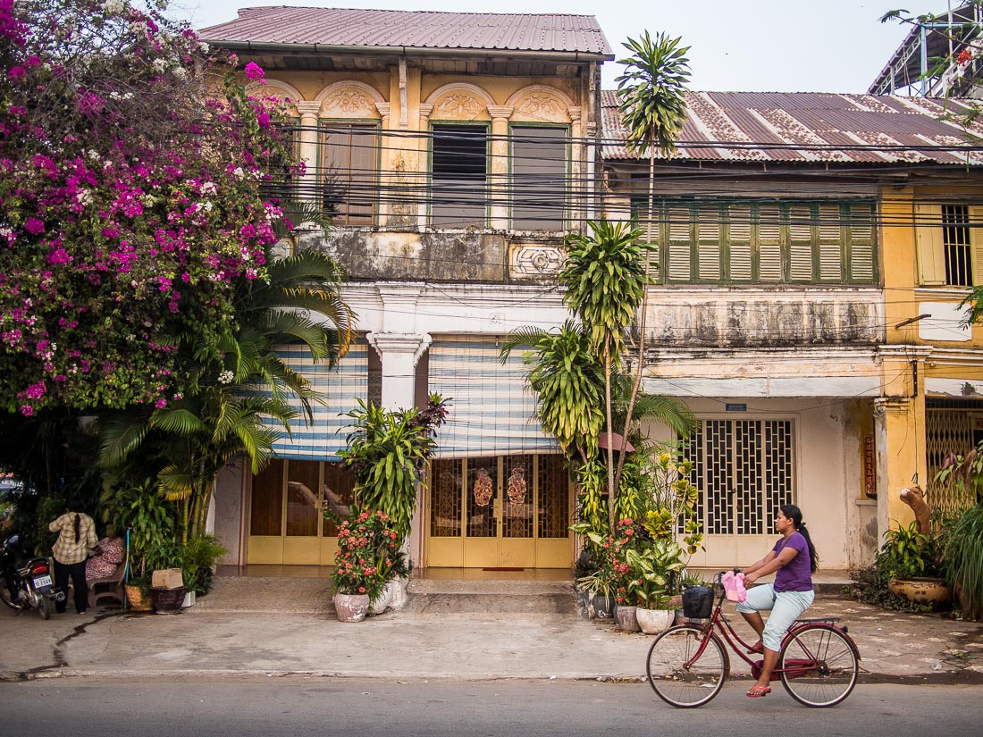 The laid-back town of Kampot