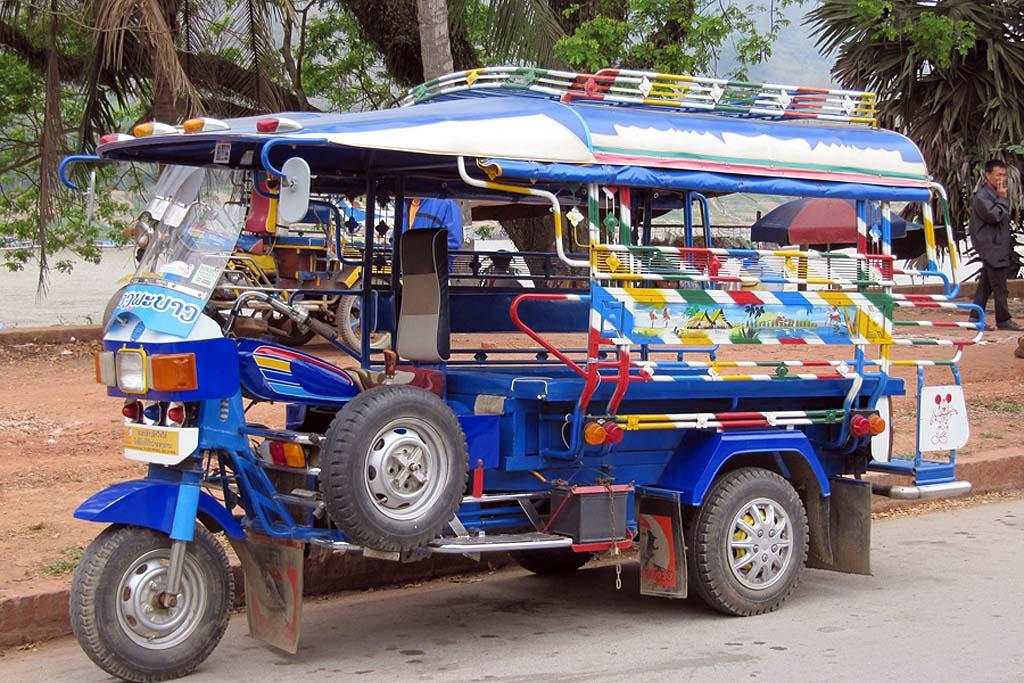 Tuk-Tuk in Luang Prabang