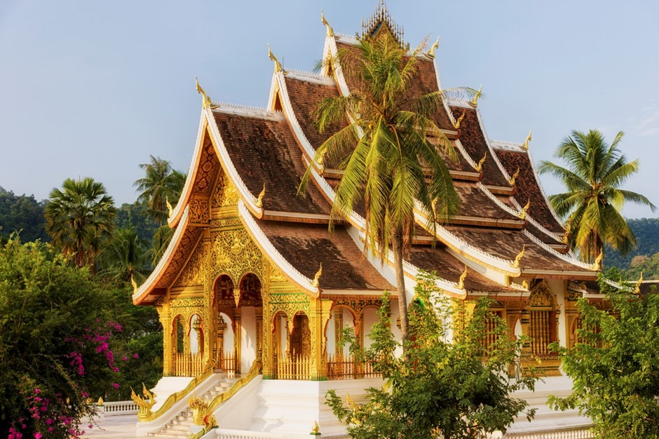 Luang Prabang Golden Temple