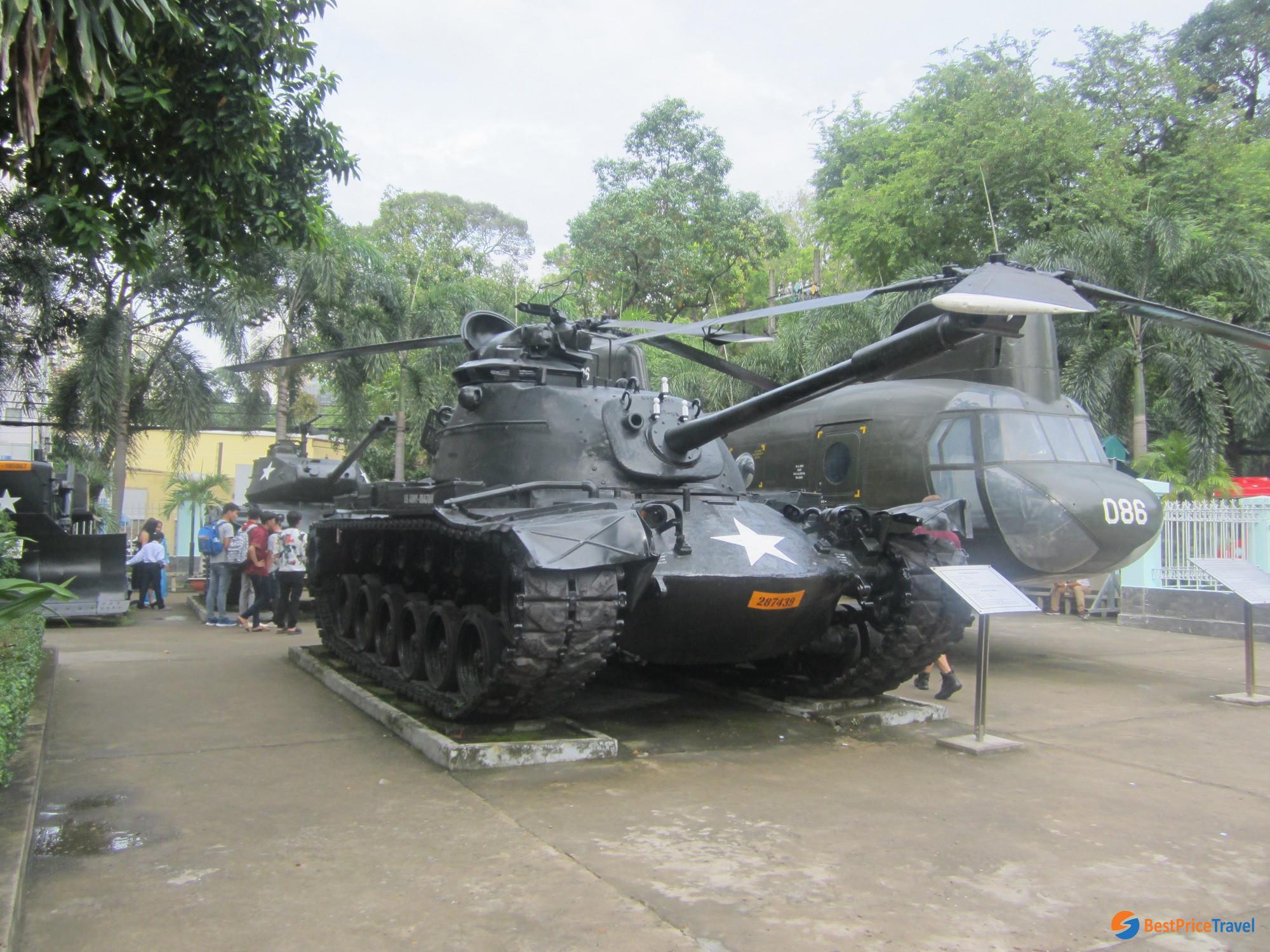 Vietnam History - War museum