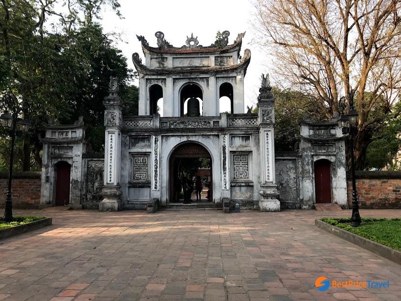 Temple of literature - hanoi attraction