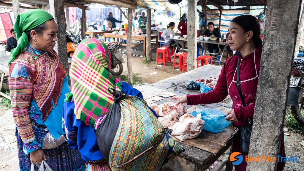 Bac Ha Market Product