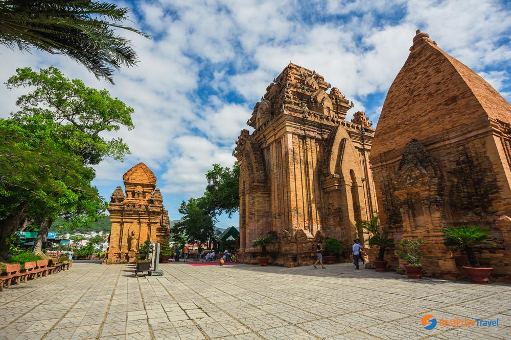 Po Nagar Cham Tower in Nha  Trang