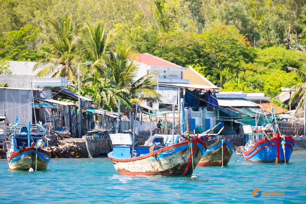 Hon Mieu Fishing Village