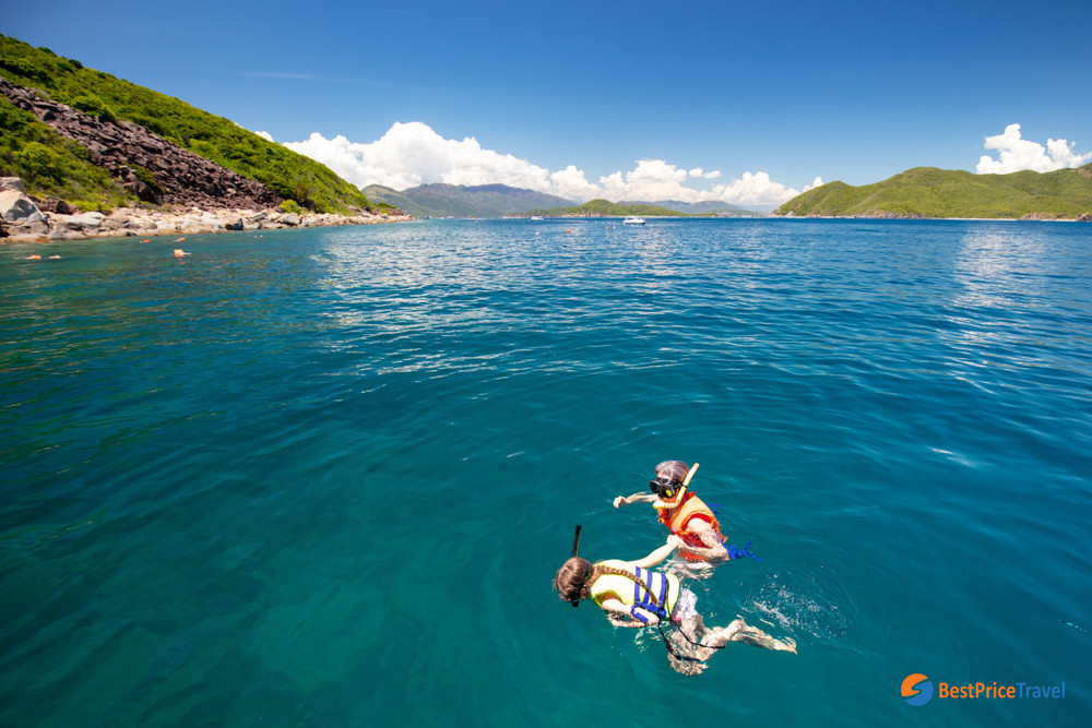 Snorkerling in Mun Island
