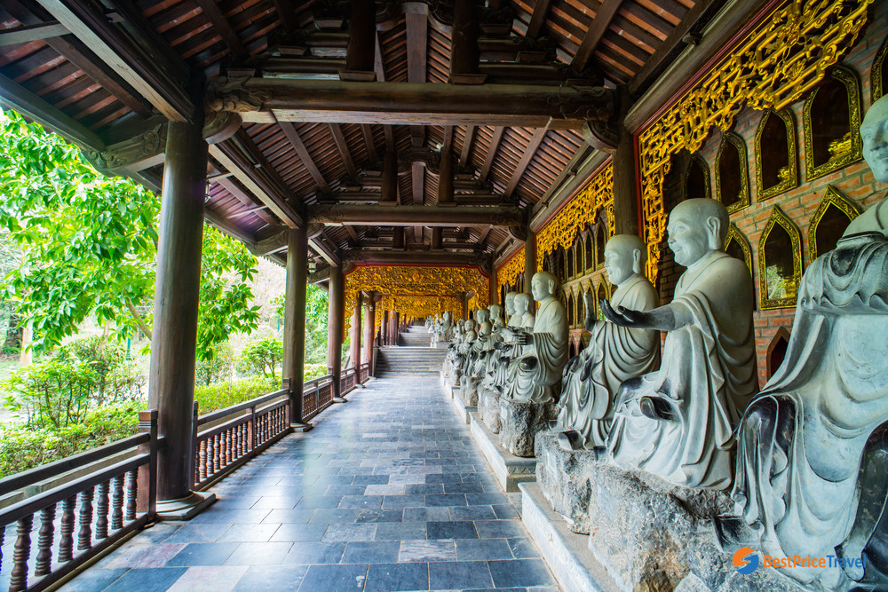 Budha Statues in Bai Dinh Pagoda