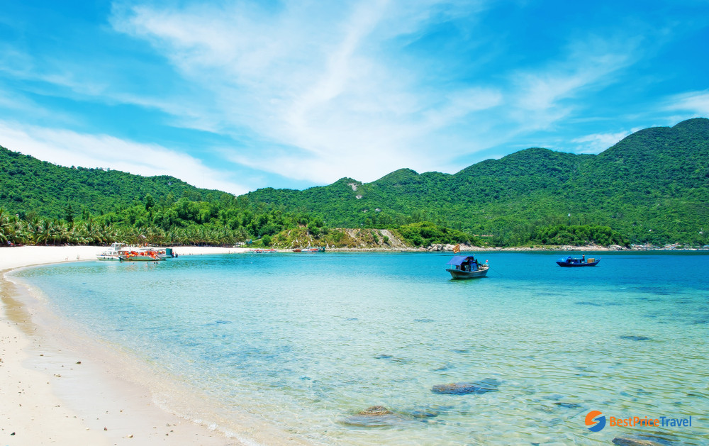 Beautiful Beach of Cham Island