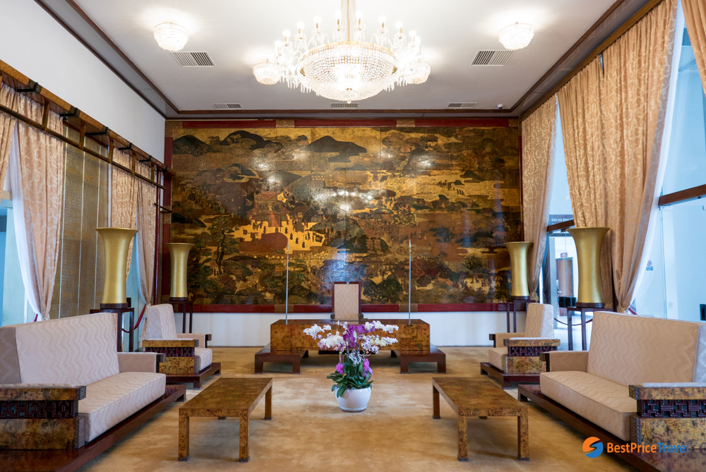 Inside Reunification Palace