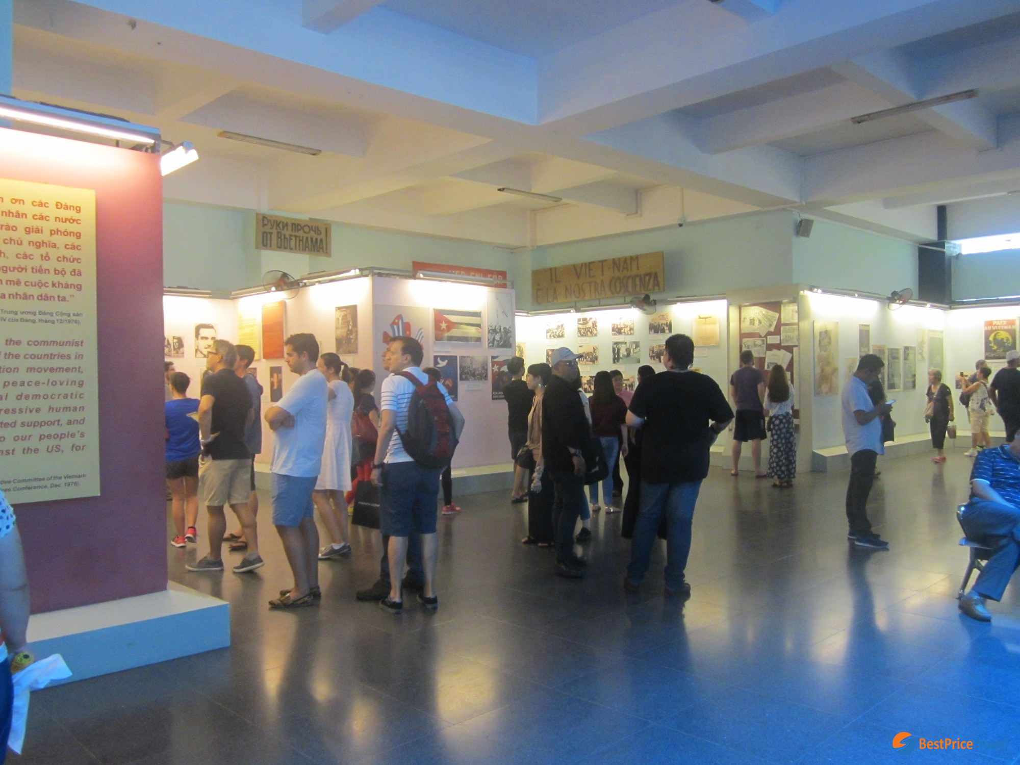 Inside the War Remnants Museum