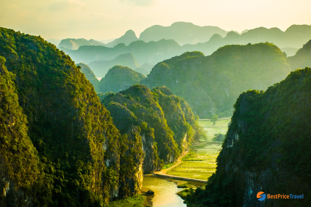 Tam Coc from above