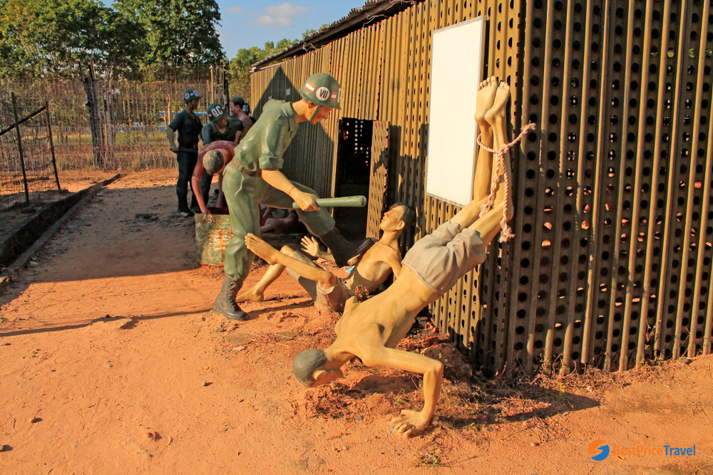 Some brutal punishments in Phu Quoc Prison