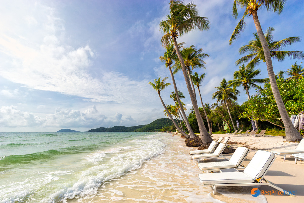 Sao Beach With White Sand