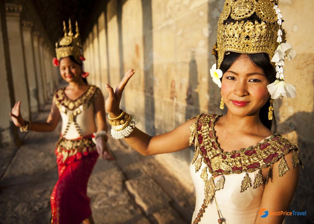 Cambodia Apsara Dancers