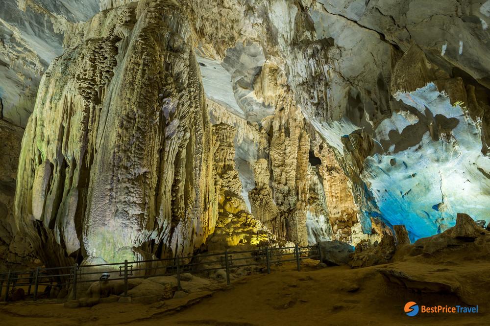Limestone in Phong Nha Cave