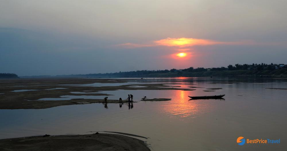 Kampong Cham sunset
