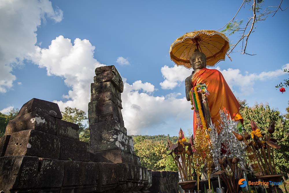 The Vat Phou in Champasak
