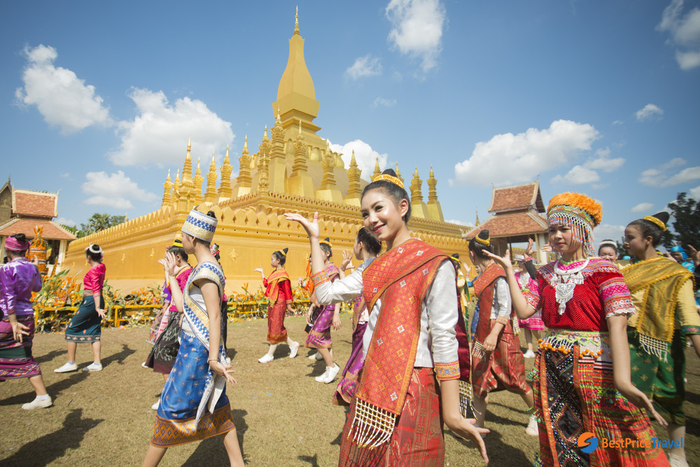 That Luang Festival, one of the most important Buddhist ceremonies