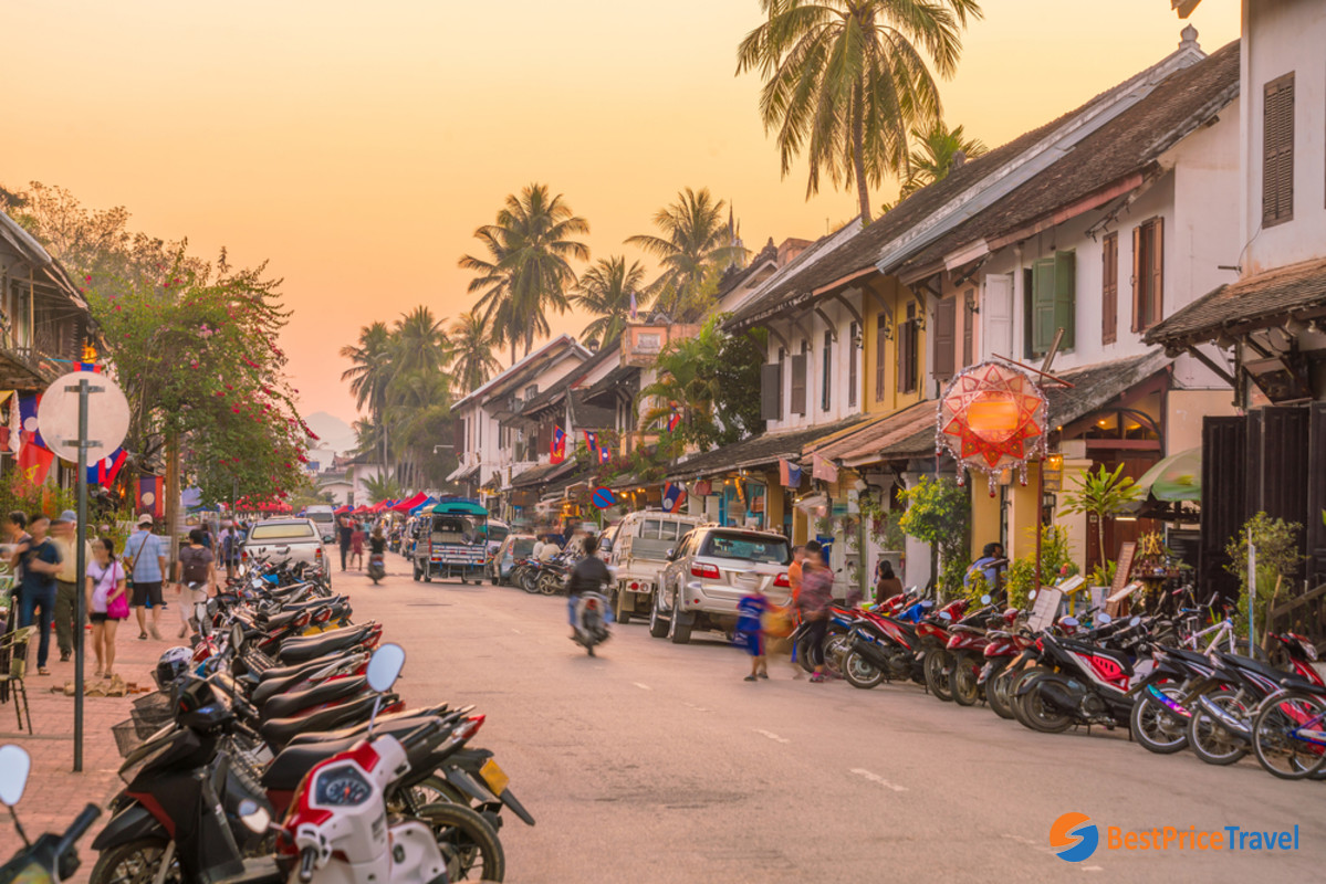 Explore the laid-back town of Luang Prabang