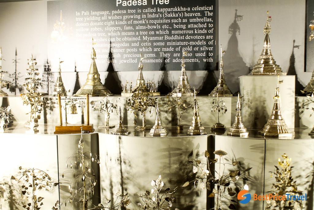 Padesa Tree in Potaaung Pagoda